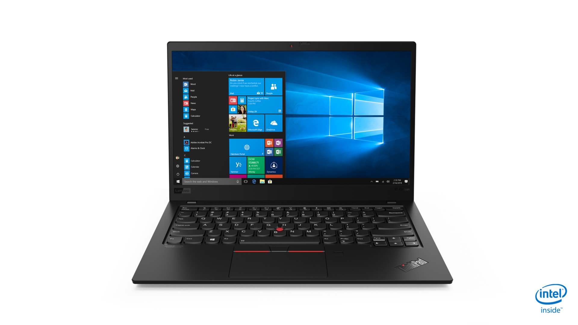 Lenovo ThinkPad X1 Carbon G7 (20R1S02C00)