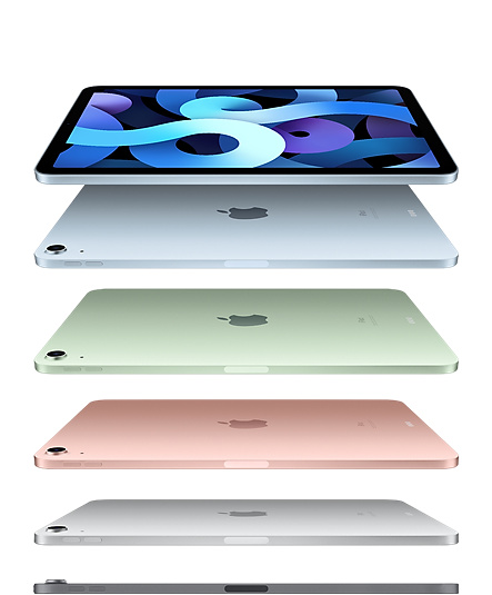 "iPad Air 10.9"" Rose Gold/ Sky Blue/ Green"